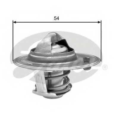 Термостат охлаждающей жидкости GATES TH25982G1 - изображение