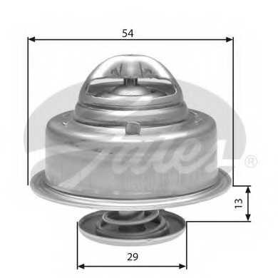 Термостат охлаждающей жидкости GATES TH27592G1 - изображение