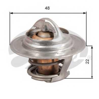 Термостат охлаждающей жидкости GATES TH28592G1 - изображение