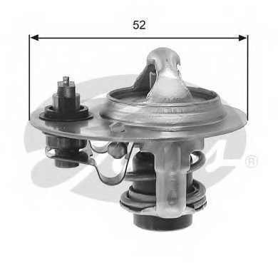 Термостат охлаждающей жидкости GATES TH30688G1 - изображение