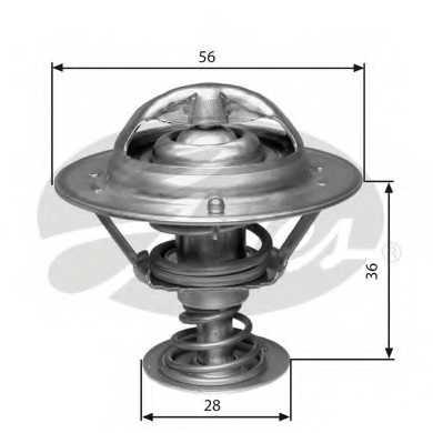 Термостат охлаждающей жидкости GATES TH31482G1 - изображение