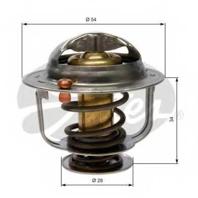 Термостат охлаждающей жидкости GATES TH31788G1 - изображение