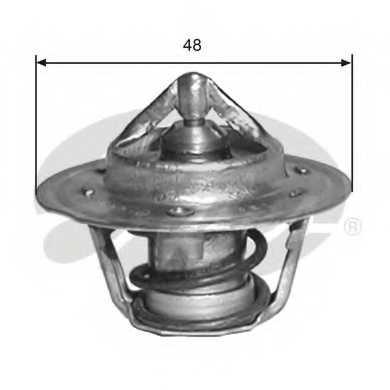 Термостат охлаждающей жидкости GATES TH33291G1 - изображение