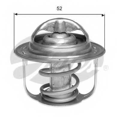 Термостат охлаждающей жидкости GATES TH39995G1 - изображение