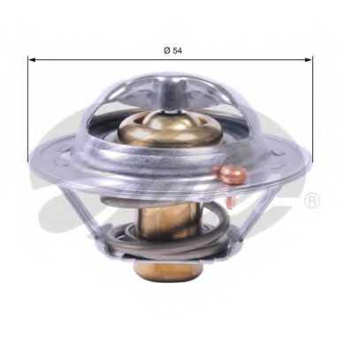 Термостат охлаждающей жидкости GATES TH41782G1 - изображение
