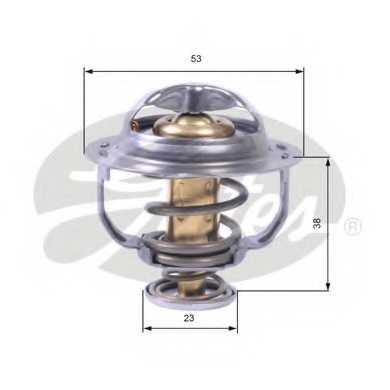 Термостат охлаждающей жидкости GATES TH42895G1 - изображение