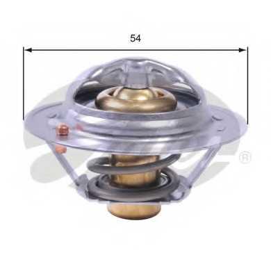 Термостат охлаждающей жидкости GATES TH43182G1 - изображение