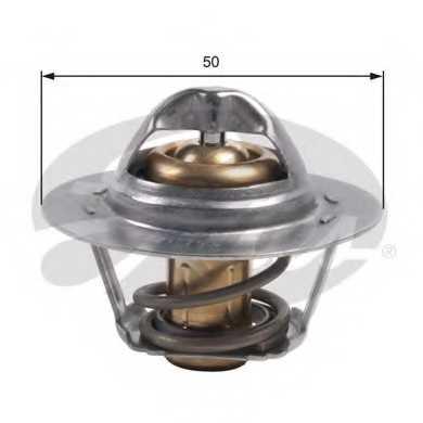 Термостат охлаждающей жидкости GATES TH45975G1 - изображение
