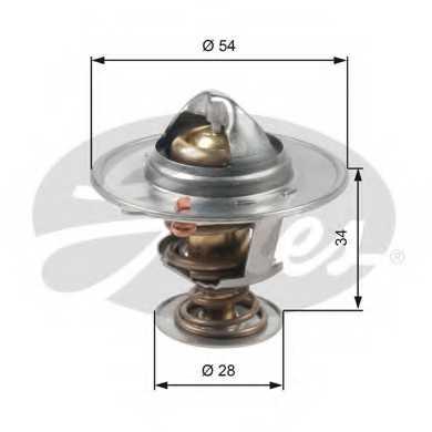 Термостат охлаждающей жидкости GATES TH47685G1 - изображение