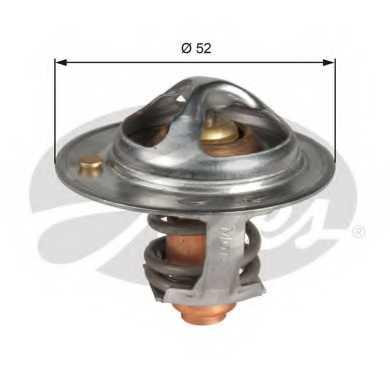 Термостат охлаждающей жидкости GATES TH48682G1 - изображение