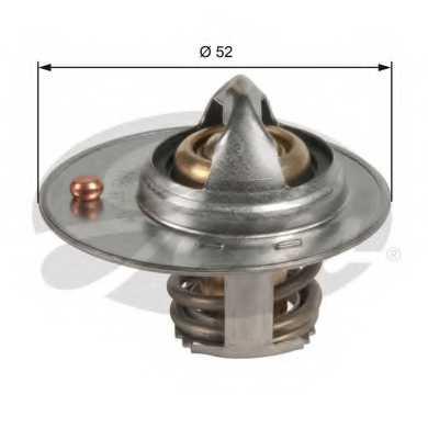 Термостат охлаждающей жидкости GATES TH49087G1 - изображение