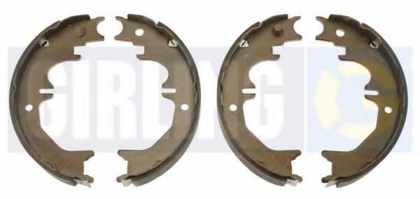 Комплект колодок стояночной тормозной системы GIRLING 5187169 - изображение