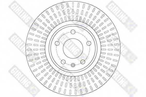 Тормозной диск GIRLING 6061481 - изображение 1