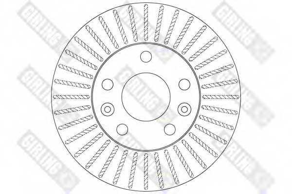 Тормозной диск GIRLING 6062001 - изображение 1