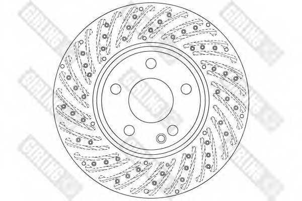 Тормозной диск GIRLING 6062625 - изображение 1