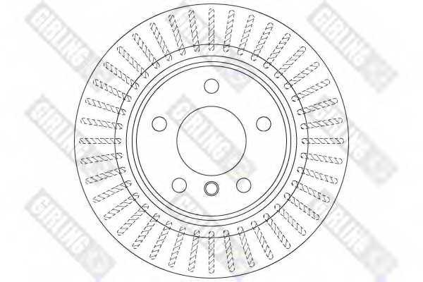 Тормозной диск GIRLING 6063132 - изображение 1