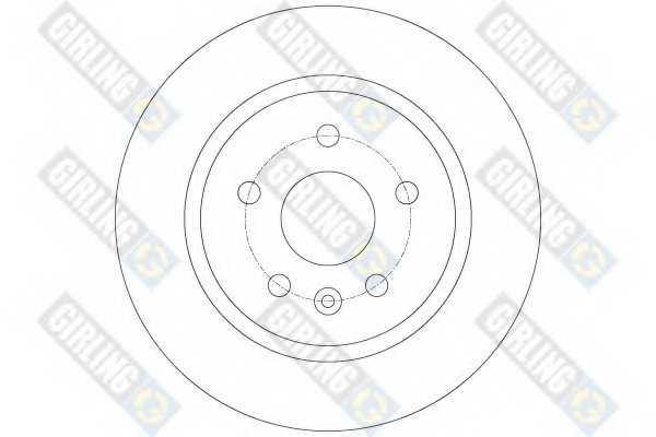Тормозной диск GIRLING 6063404 - изображение 1