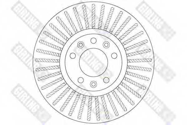 Тормозной диск GIRLING 6064191 - изображение 1