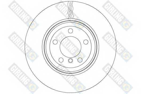 Тормозной диск GIRLING 6064711 - изображение 1