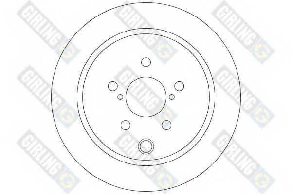 Тормозной диск GIRLING 6065034 - изображение 1