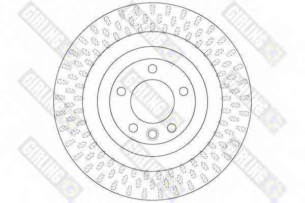 Тормозной диск GIRLING 6065055 - изображение 1