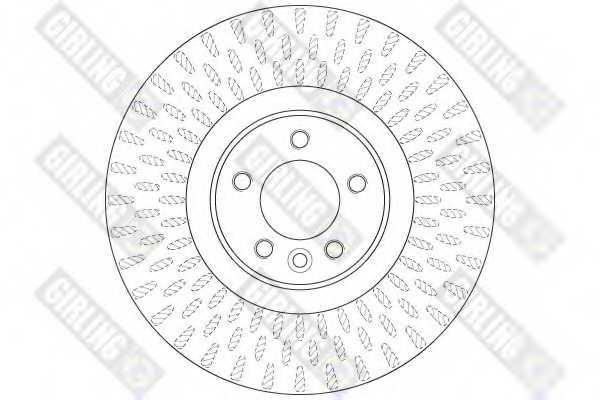 Тормозной диск GIRLING 6065085 - изображение 1