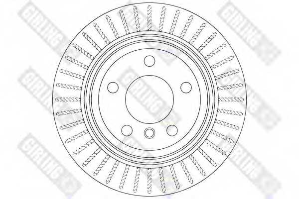 Тормозной диск GIRLING 6065135 - изображение 1