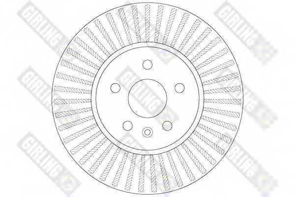 Тормозной диск GIRLING 6066291 - изображение