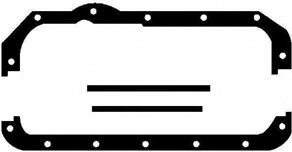 Комплект прокладок, масляный поддон GLASER E30448-00 - изображение