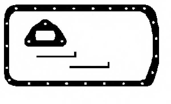 Комплект прокладок, масляный поддон GLASER E30527-00 - изображение