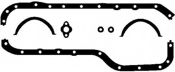 Комплект прокладок, масляный поддон GLASER E30653-00 - изображение