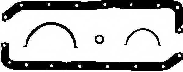 Комплект прокладок, масляный поддон GLASER E31451-00 - изображение