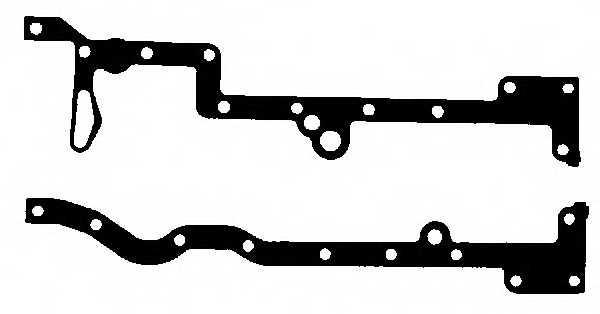 Комплект прокладок, масляный поддон GLASER E36738-00 - изображение