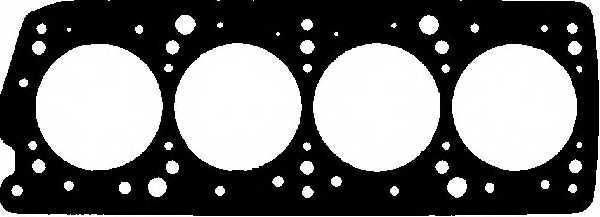 Прокладка головки цилиндра GLASER H00340-00 - изображение
