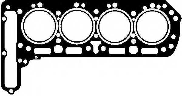 Прокладка головки цилиндра GLASER H02654-00 - изображение