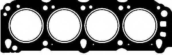 Прокладка головки цилиндра GLASER H03727-00 - изображение