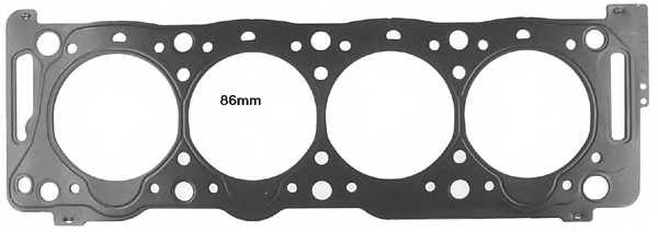 Прокладка головки цилиндра GLASER H03924-00 - изображение