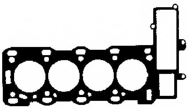 Прокладка головки цилиндра GLASER H04274-00 - изображение