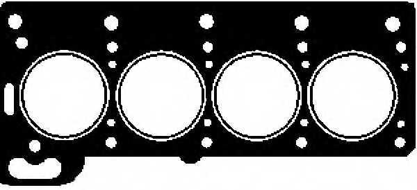 Прокладка головки цилиндра GLASER H04685-00 - изображение