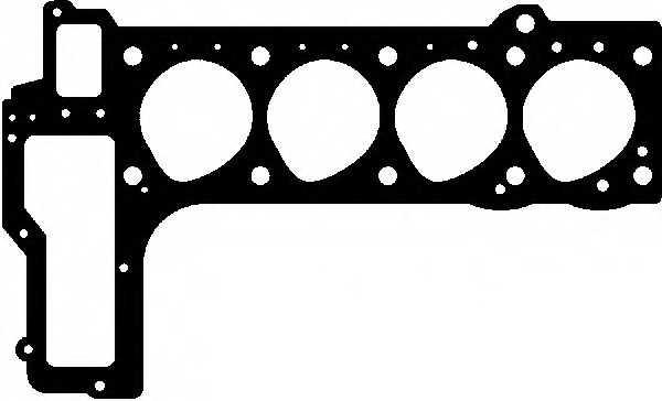Прокладка головки цилиндра GLASER H05835-00 - изображение