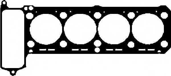 Прокладка головки цилиндра GLASER H06542-00 - изображение