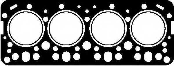 Прокладка головки цилиндра GLASER H06604-00 - изображение