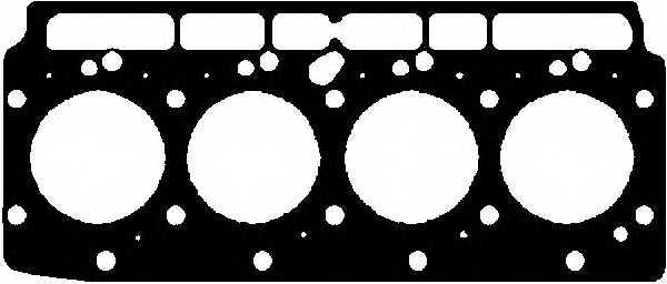 Прокладка головки цилиндра GLASER H06679-00 - изображение
