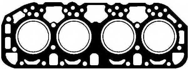 Прокладка головки цилиндра GLASER H07635-00 - изображение