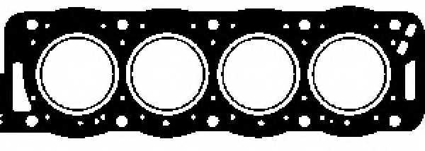 Прокладка головки цилиндра GLASER H07781-00 - изображение