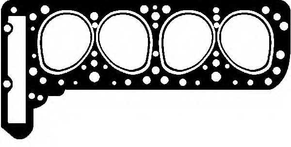 Прокладка головки цилиндра GLASER H08224-00 - изображение