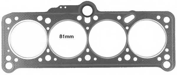 Прокладка головки цилиндра GLASER H12393-10 - изображение