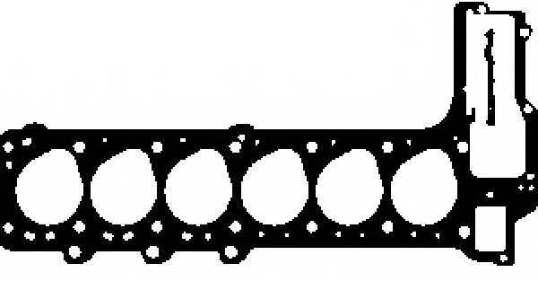 Прокладка головки цилиндра GLASER H15718-10 - изображение
