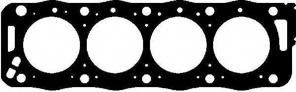 Прокладка головки цилиндра GLASER H15875-30 - изображение