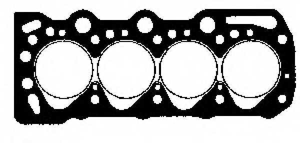 Прокладка головки цилиндра GLASER H17610-10 - изображение